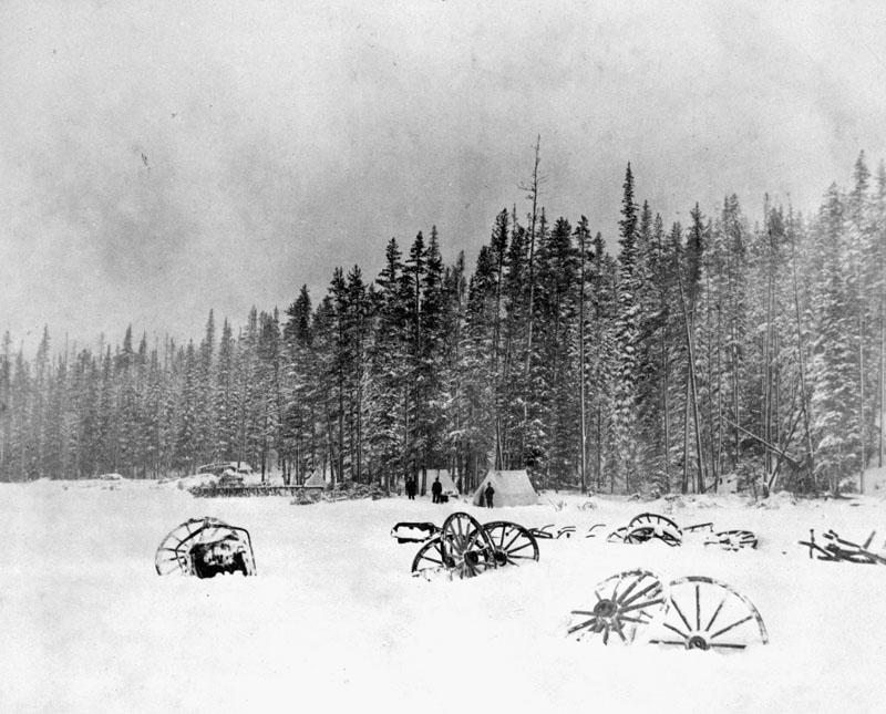 camp-of-otto-j-klotz-summit-of-rockies-1886-nac